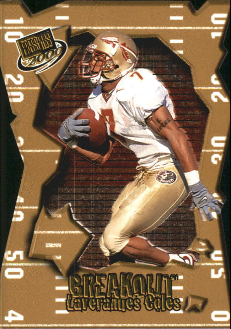 2000 Press Pass Breakout #BO19 Laveranues Coles