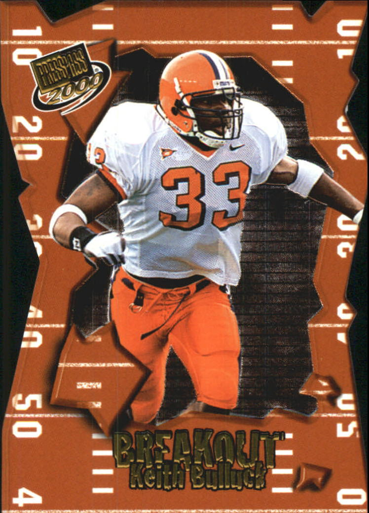 2000 Press Pass Breakout #BO24 Keith Bulluck