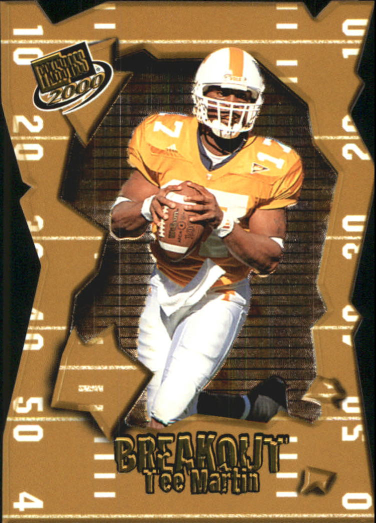 2000 Press Pass Breakout #BO27 Tee Martin