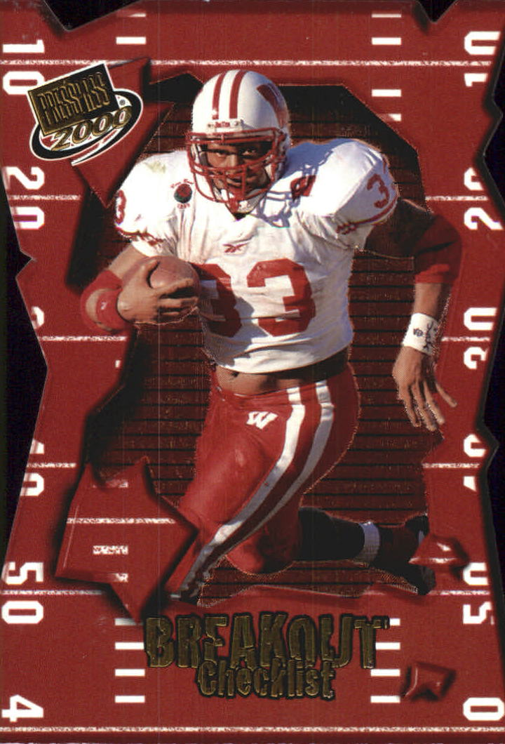2000 Press Pass Breakout #BO35 Ron Dayne CL