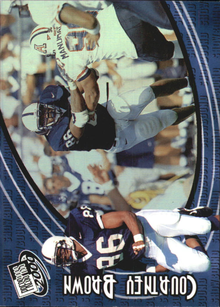 2000 Press Pass Showbound #SB3 Courtney Brown