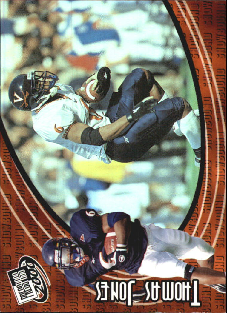 2000 Press Pass Showbound #SB6 Thomas Jones