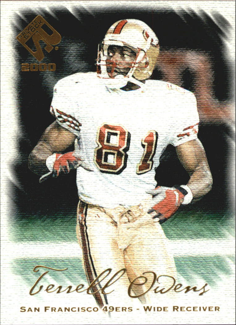 2000 Private Stock #85 Terrell Owens