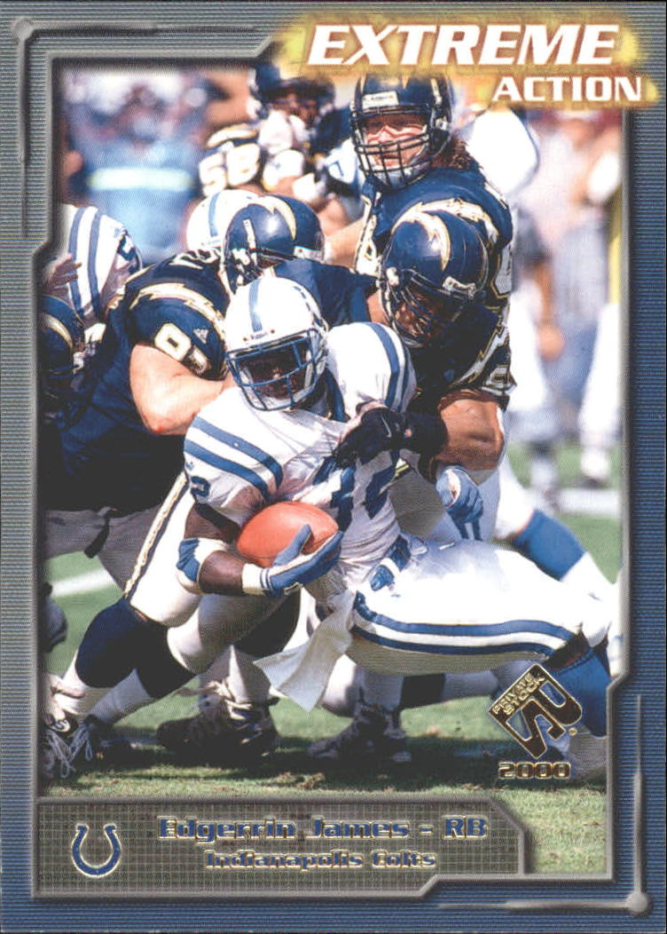 2000 Private Stock Extreme Action #6 Edgerrin James