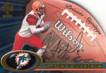 2000 Private Stock Private Signings #19 Quinton Spotwood