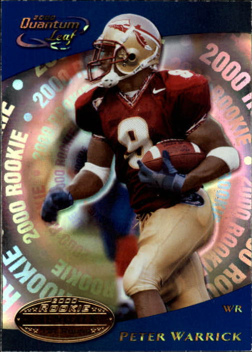 2000 Quantum Leaf #302 Peter Warrick RC