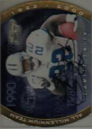 2000 Quantum Leaf All-Millennium Team Autographs #ES Emmitt Smith