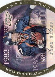 2000 Quantum Leaf All-Millennium Team Autographs #JE John Elway