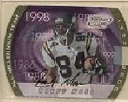 2000 Quantum Leaf All-Millennium Team Autographs #RM Randy Moss