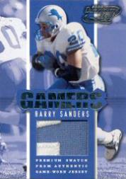 2000 Quantum Leaf Gamers #G3 Barry Sanders