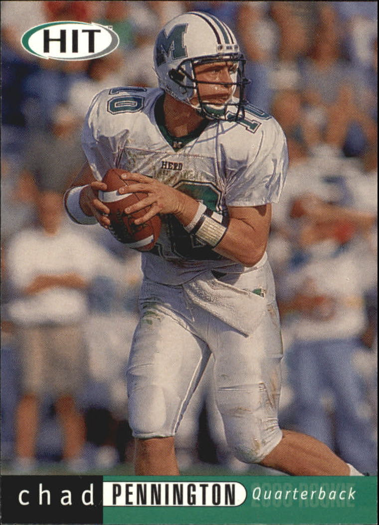 2000 SAGE HIT #10 Chad Pennington
