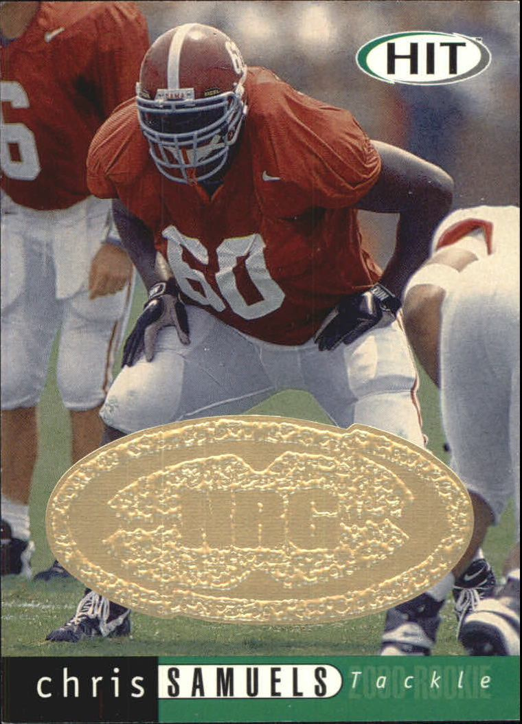 2000 SAGE HIT NRG #3 Chris Samuels