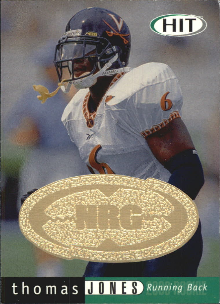 2000 SAGE HIT NRG #6 Thomas Jones