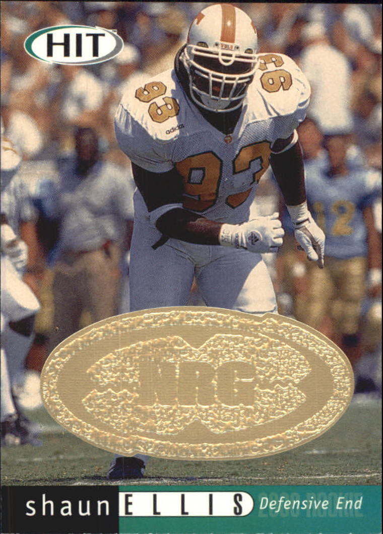 2000 SAGE HIT NRG #39 Shaun Ellis