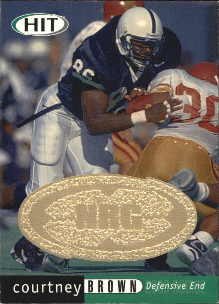 2000 SAGE HIT NRG #50 Courtney Brown