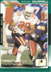 2000 Score #210 Adrian Murrell