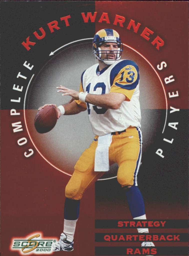 2000 Score Complete Players #CP12 Kurt Warner