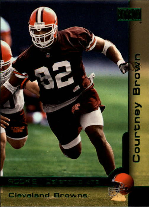 2000 SkyBox #201 Courtney Brown RC