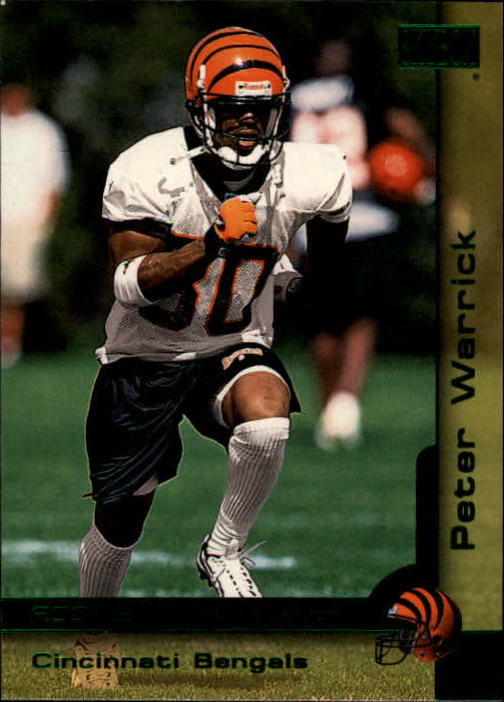 2000 SkyBox #202 Peter Warrick RC