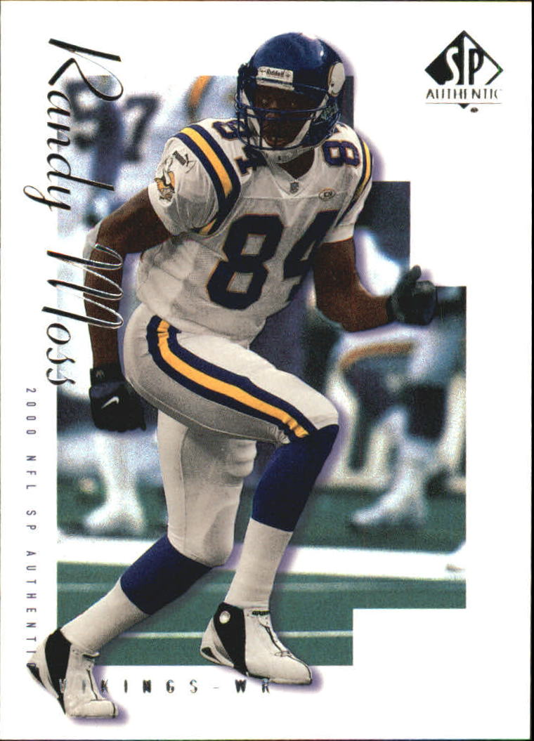 2000 SP Authentic #46 Randy Moss
