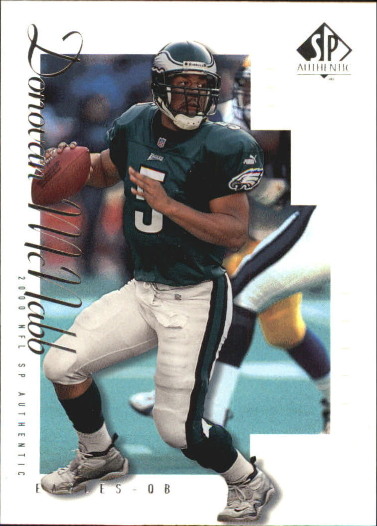 2000 SP Authentic #64 Donovan McNabb