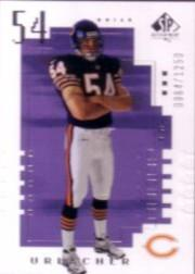 2000 SP Authentic #122 Brian Urlacher RC