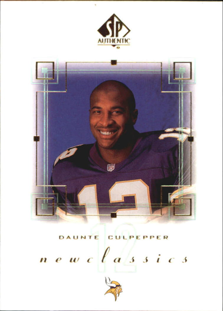 2000 SP Authentic New Classics #NC6 Daunte Culpepper