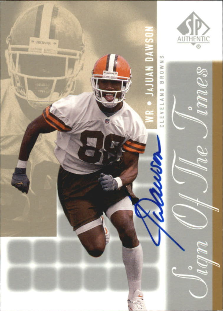 2000 SP Authentic Sign of the Times #JD JaJuan Dawson