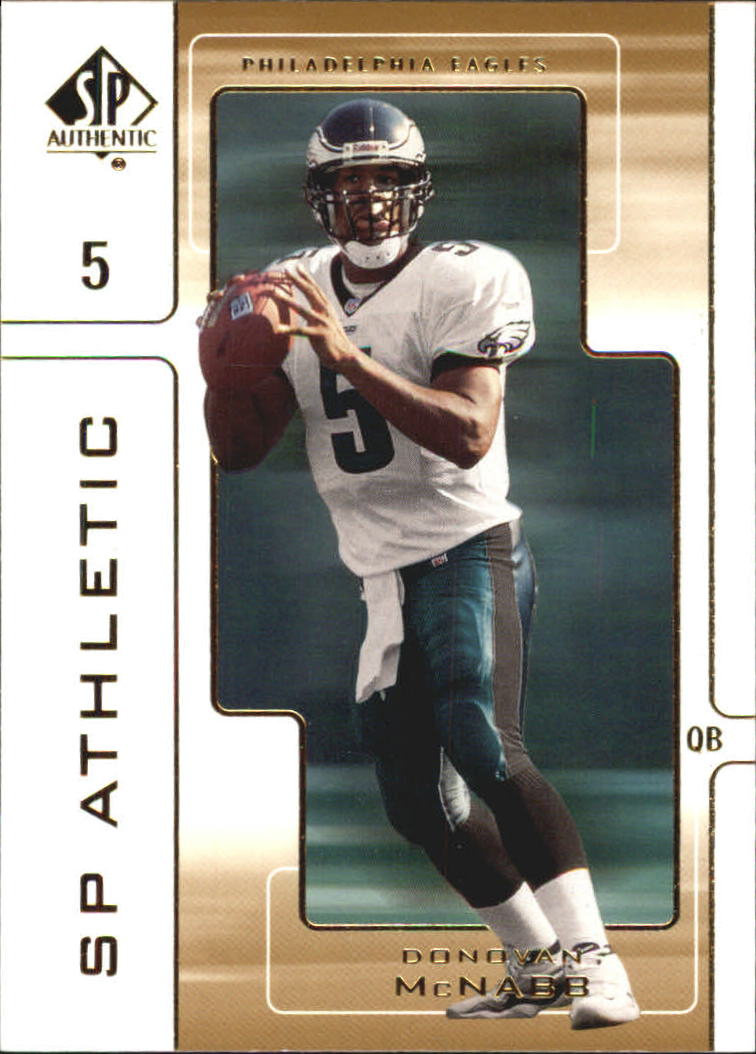 2000 SP Authentic SP Athletic #A6 Donovan McNabb
