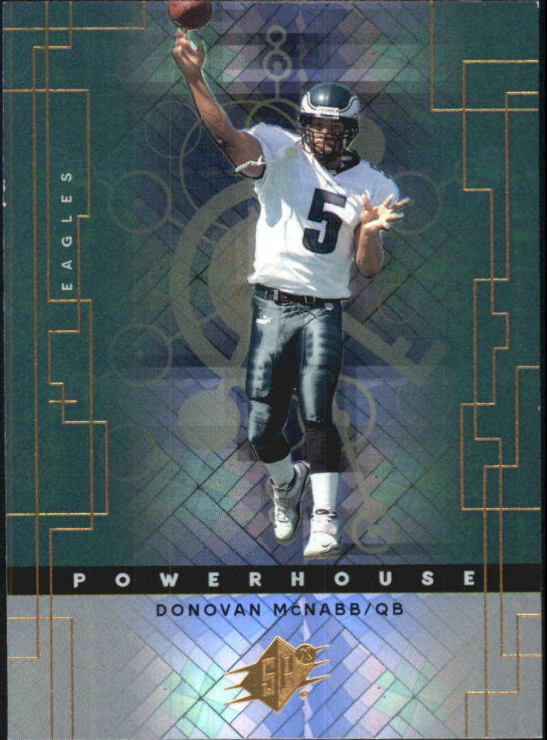2000 SPx Powerhouse #PH6 Donovan McNabb