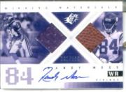 2000 SPx Winning Materials Autographs #AWMRM Randy Moss