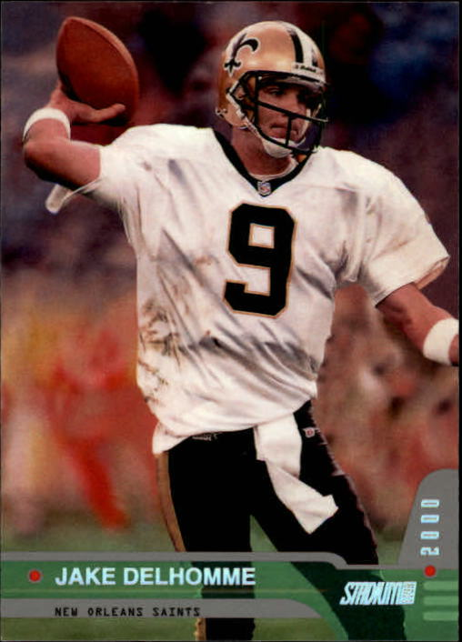 2000 Stadium Club #27 Jake Delhomme RC