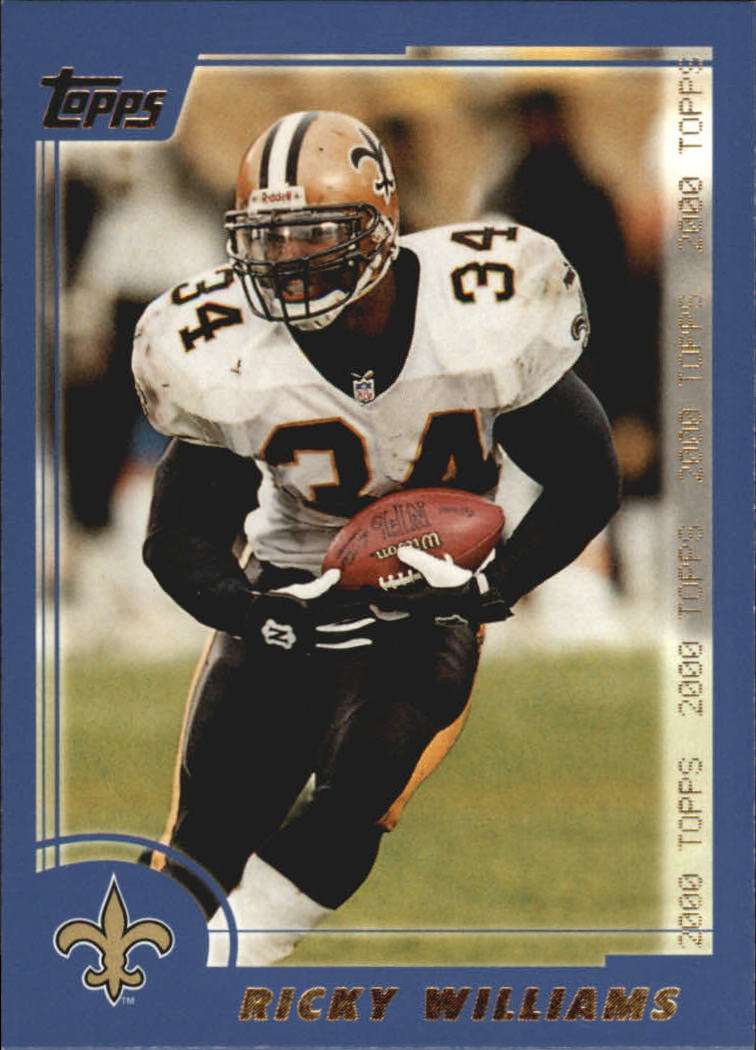 2000 Topps #68 Ricky Williams front image