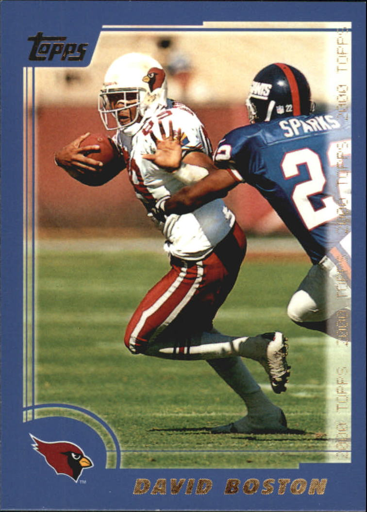 2000 Topps #299 David Boston