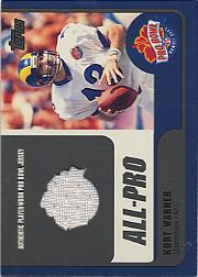 2000 Topps Pro Bowl Jerseys #KWQB Kurt Warner
