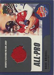 2000 Topps Pro Bowl Jerseys #MBQB Mark Brunell