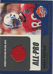 2000 Topps Pro Bowl Jerseys #MHWR Marvin Harrison