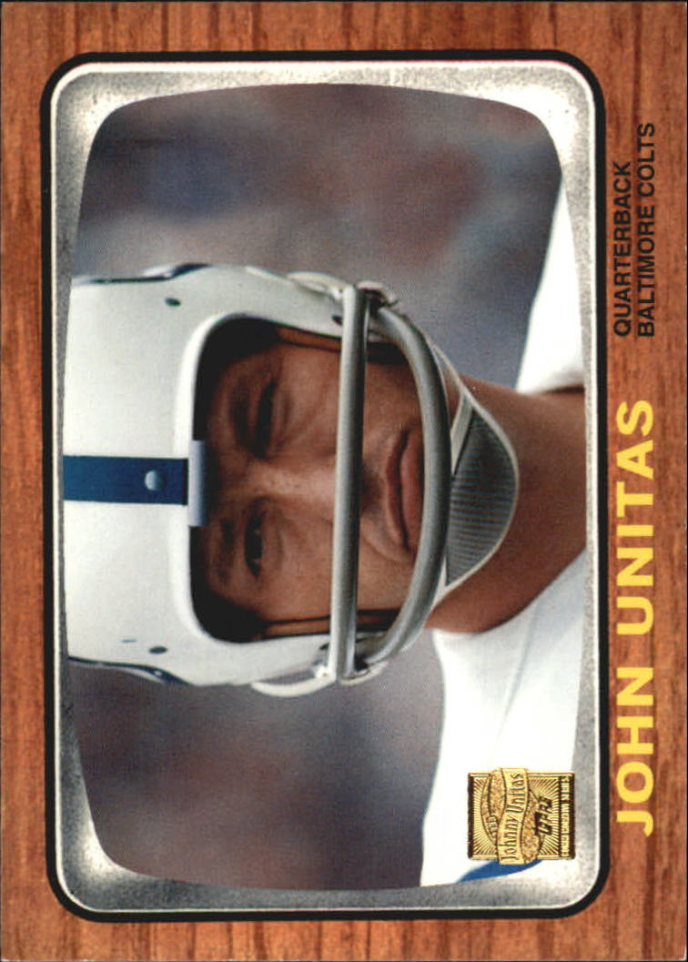 2000 Topps Unitas Reprints #R10 Johnny Unitas 1966