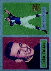 2000 Topps Unitas Reprints Chrome #R1 Johnny Unitas