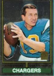 2000 Topps Unitas Reprints Chrome #R18 Johnny Unitas