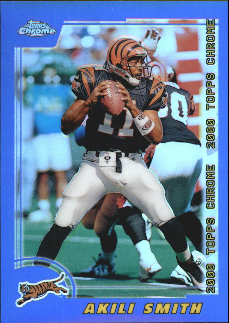 2000 Topps Chrome Refractors #172 Akili Smith