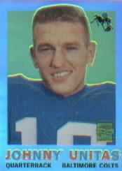 2000 Topps Chrome Unitas Reprints Refractors #R3 Johnny Unitas 1959