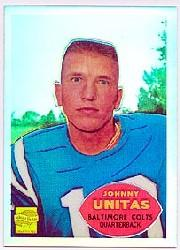 2000 Topps Chrome Unitas Reprints Refractors #R4 Johnny Unitas 1960