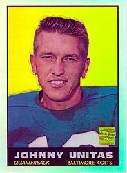 2000 Topps Chrome Unitas Reprints Refractors #R5 Johnny Unitas 1961