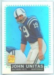 2000 Topps Chrome Unitas Reprints Refractors #R8 Johnny Unitas 1964