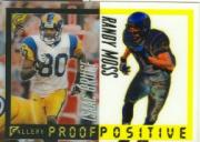 2000 Topps Gallery Proof Positive #P8 I.Bruce/R.Moss