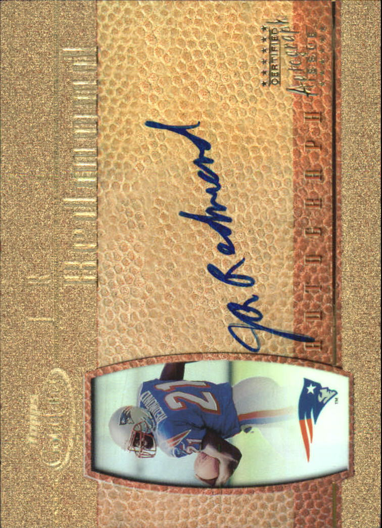 2000 Topps Gold Label Rookie Autographs #JR J.R. Redmond