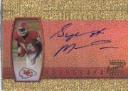 2000 Topps Gold Label Rookie Autographs #SM Sylvester Morris