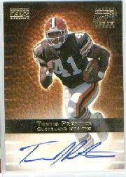 2000 Topps Gold Label Rookie Autographs #TP Travis Prentice