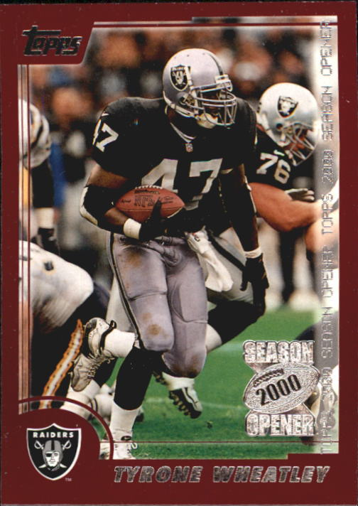 2000 Topps Season Opener #1 Tyrone Wheatley